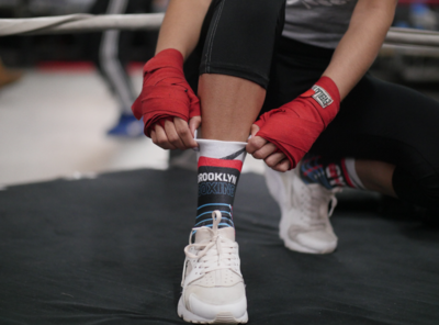 브루클린 복싱 [Brooklyn] Brooklyn Boxing X Gleason's Gym Graphic Socks