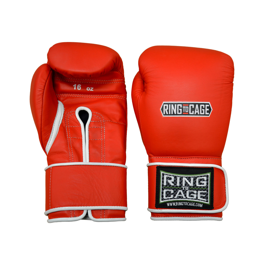 링투케이지 RingToCage Japanese Style Training Gloves 2.0 - Velcro 12oz red외 5 color