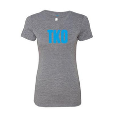 브루클린 복싱 [Brooklyn] 3/4 Raglan TKO T-Shirt_Women  사이즈 (S/M/L/XXL/XXXL)