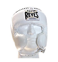 레예스 헤드기어 Cleto Reyes Cheek Protection Headgear(White)
