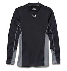 "UNDER ARMOUR SHIRT ""COLD GEAR MOCK ARMOURSTRETCH HYNRID"""