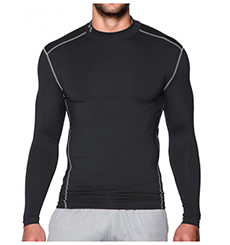 "UNDER ARMOUR SHIRT ""COLD GEAR ARMOUR COMPRESSION MOCK"""