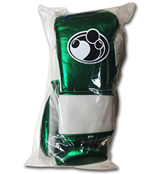 그랜트 복싱 글러브 PRO VELCRO TRAINING GLOVES (METALLIC GREEN/WHITE)
