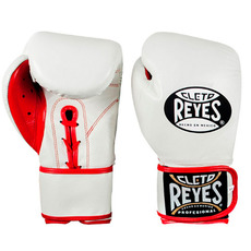 레예스 글러브 Cleto Reyes Lace up Hook and Loop Hybrid Boxing Gloves(white)
