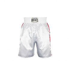 레예스 복싱 트렁크 Cleto Reyes Boxing trunk in satin polyester(White-Green-Red)