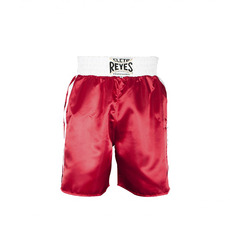 레예스 복싱 트렁크 Cleto Reyes Boxing trunk in satin polyester(Red&White)