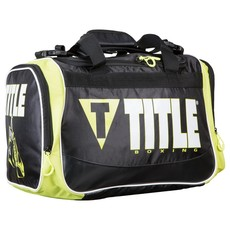 타이틀 가방 TITLE IGNITE PERSONAL GEAR BAG(BLACK/LIME)