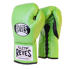 레예스 경기용 글러브 Cleto Reyes Official Professional Boxing Gloves(Green)