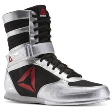 리복 복싱화 REEBOK BOXING BOOT - SILVER/BLACK/WHITE
