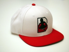 브루클린 복싱[Brooklyn] Poland Logo Snapback - white