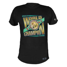 [WBC] WORLD CHAMPION BLACK 티셔츠 (Playera WORLD CHAMPION NEGRO)