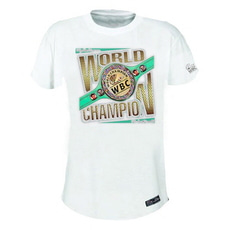 WORLD CHAMPION 티셔츠 -  WHITE  (Playera WORLD CHAMPION BLANCO)