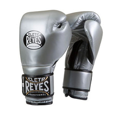 레예스 훅앤룹 트레이닝 글러브 14온스 Cleto Reyes Hook and Loop Closure Training Gloves 14oz (Titanium)