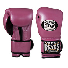 레예스 훅앤룹 트레이닝 글러브 14온스 Cleto Reyes Hook and Loop Closure Training Gloves 14oz (Pink)