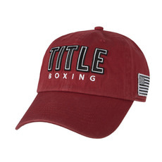 타이틀 복싱 앤썸 볼캡 TITLE BOXING ANTHEM ADJUSTABLE CAP (2 COLOR)