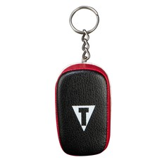 타이틀 타이 패드 키링 TITLE THAI PAD KEYRING BLACK/RED