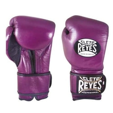 레예스 훅앤룹 트레이닝 글러브 12온스 Cleto Reyes Hook and Loop Closure Training Gloves 12oz (Purple)