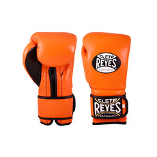 클레토 레예스 트레이닝 훅앤룹 글러브 벨크로 클로져 Cleto Reyes Training Hook and Loop Gloves with Velcro Closure Tiger Orange (12/14OZ)
