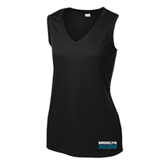브루클린 복싱 [Brooklyn] Brooklyn Boxing Performance V-Neck Tank Top_Women 사이즈 (S/M/L/XXL/XXXL)