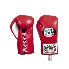 클레토 레예스 경기용 글러브 레드 Cleto Reyes Official Professional Boxing Gloves Red 8 / 10oz