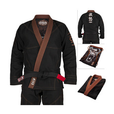 베넘 앱솔루트 고릴라 주짓수 도복 A3 - 블랙/브라운 Venum Absolute Gorilla BJJ Gi (Bag included) - Black/Brown - VENUM-03326-124-A3