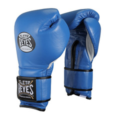 레예스 훅앤룹 트레이닝 글러브 12온스 Cleto Reyes Hook and Loop Closure Training Gloves 12oz (Blue)