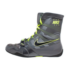 나이키 복싱화 하이퍼KO Nike HyperKO - Dark Grey / Black / Volt (634923 007)