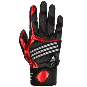 [ADIDAS] Z52039 배팅장갑 좌타자용(오른손착용) (검정/빨강)(1000012659)[ADIDAS] Z52039 Batting Glove Left-Handed (Right-Handed Wear)(Black/Red)