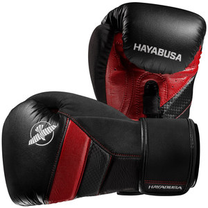 하야부사 T3 복싱 글러브 블랙/레드 HAYABUSA T3 BOXING GLOVES BLACK/RED [T316G-BR]